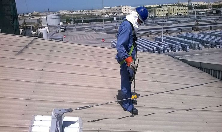 Roof Height Safety System